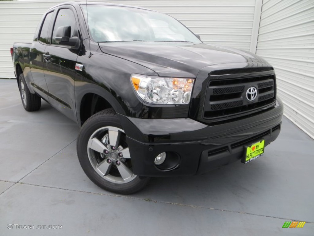 2013 Tundra TRD Double Cab - Black / Black photo #1