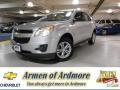 Silver Ice Metallic 2011 Chevrolet Equinox LS