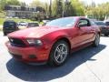 2011 Red Candy Metallic Ford Mustang V6 Premium Coupe  photo #3
