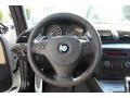 2013 BMW 1 Series Savanna Beige Interior Steering Wheel Photo
