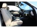 2013 BMW 1 Series Savanna Beige Interior Front Seat Photo