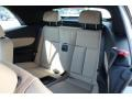 2013 BMW 1 Series Savanna Beige Interior Rear Seat Photo