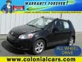 Black Pearl Metallic 2009 Suzuki SX4 Crossover Touring AWD