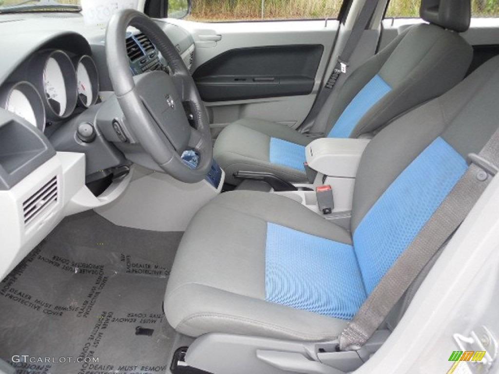 Pastel Slate Gray Blue Interior 2007 Dodge Caliber Sxt Photo 80589343