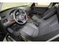 2009 BMW X3 Black Interior Prime Interior Photo