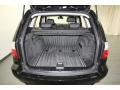 2009 BMW X3 Black Interior Trunk Photo