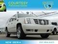 White Diamond Tricoat 2011 Cadillac Escalade ESV Luxury