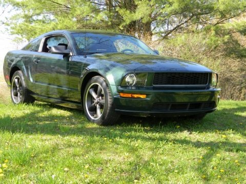 2009 ford mustang bullitt coupe data info and specs. Black Bedroom Furniture Sets. Home Design Ideas
