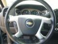 Ebony Steering Wheel Photo for 2008 Chevrolet Silverado 1500 #80615023