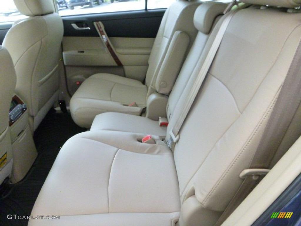 2013 Shoreline Blue Pearl Toyota Highlander Limited 4wd 80592769 Photo 14 Car