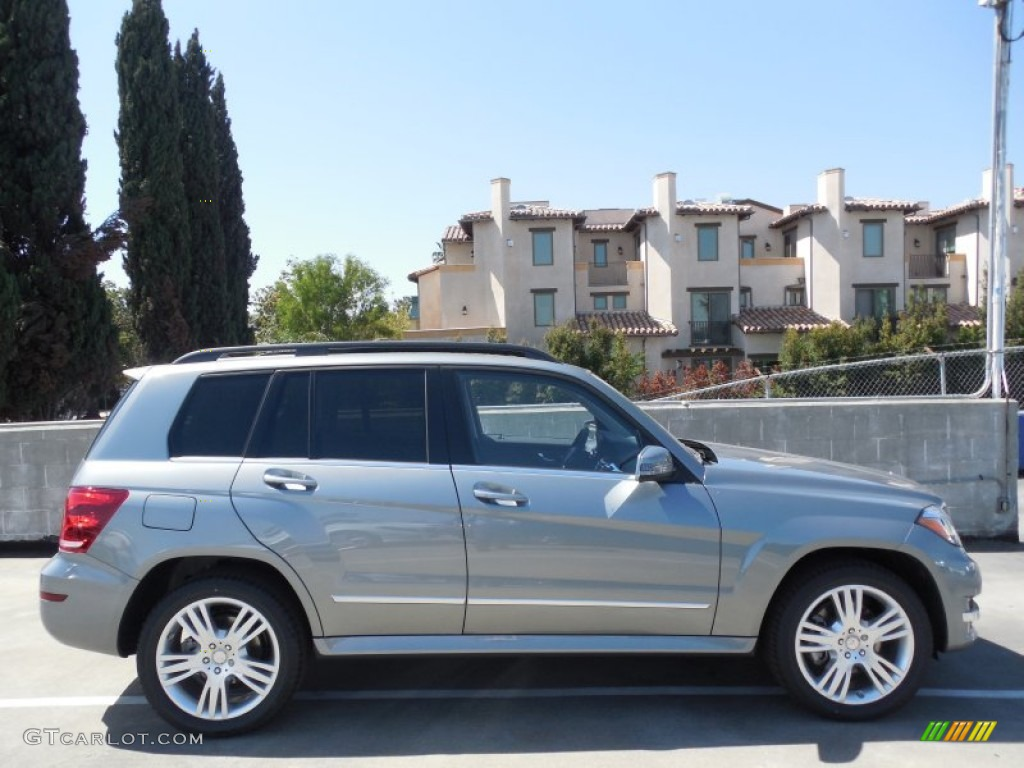 Palladium silver metallic 2013 mercedes benz glk 250 for Mercedes benz silver