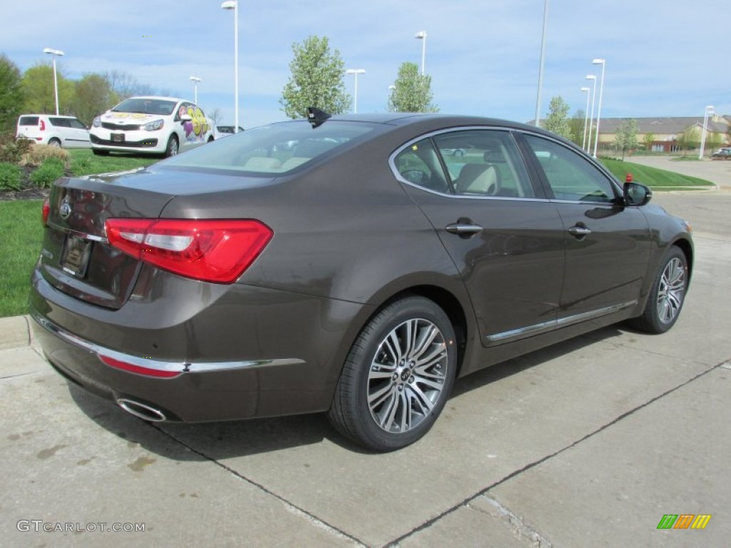 Metallic Bronze 2014 Kia Cadenza Premium Exterior Photo 80633947