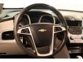 Jet Black/Light Titanium Steering Wheel Photo for 2010 Chevrolet Equinox #80638004