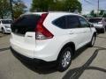 2013 White Diamond Pearl Honda CR-V EX-L AWD  photo #3