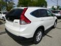 2013 White Diamond Pearl Honda CR-V EX-L AWD  photo #3
