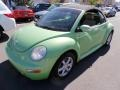 Cyber Green Metallic 2004 Volkswagen New Beetle GLS 1.8T Convertible
