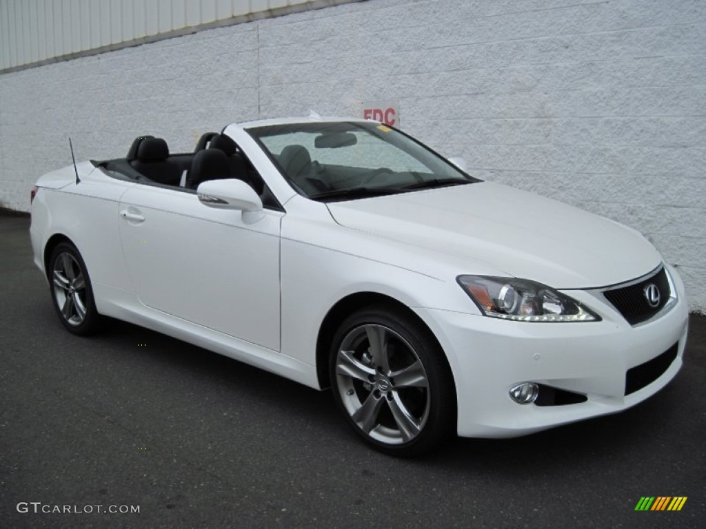 2012 starfire white pearl lexus is 250 c convertible. Black Bedroom Furniture Sets. Home Design Ideas