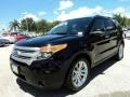 Black 2012 Ford Explorer XLT Exterior