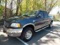 Charcoal Blue Metallic 2003 Ford F150 King Ranch SuperCrew 4x4