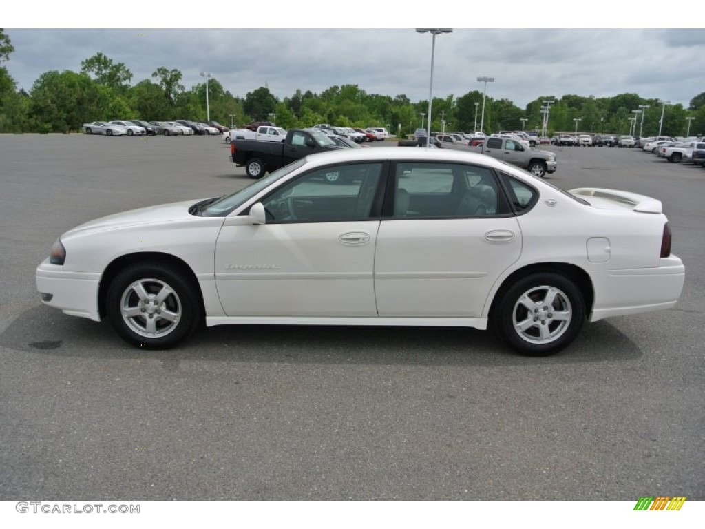 White 2004 Chevrolet Impala Ls Exterior Photo 80665020