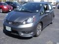 Polished Metal Metallic 2012 Honda Fit Sport