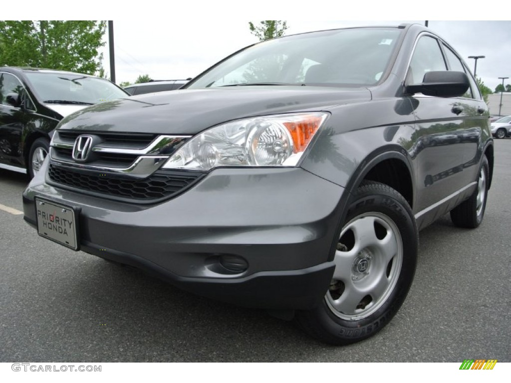 2010 CR-V LX - Polished Metal Metallic / Gray photo #1