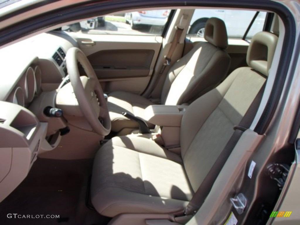 Pastel Pebble Beige Interior 2007 Dodge Caliber SXT Photo #80680441