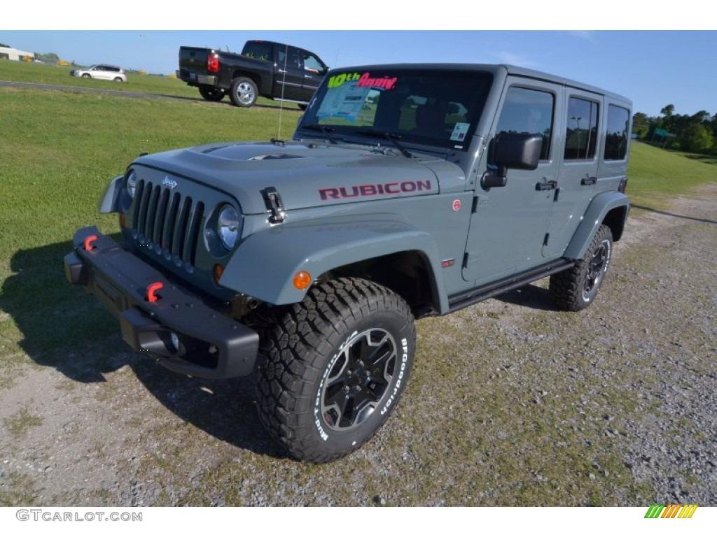 2013 Anvil Jeep Wrangler Unlimited Rubicon 10th Anniversary Edition 4x4  80677500