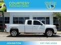 Summit White 2009 GMC Sierra 1500 SLE Extended Cab