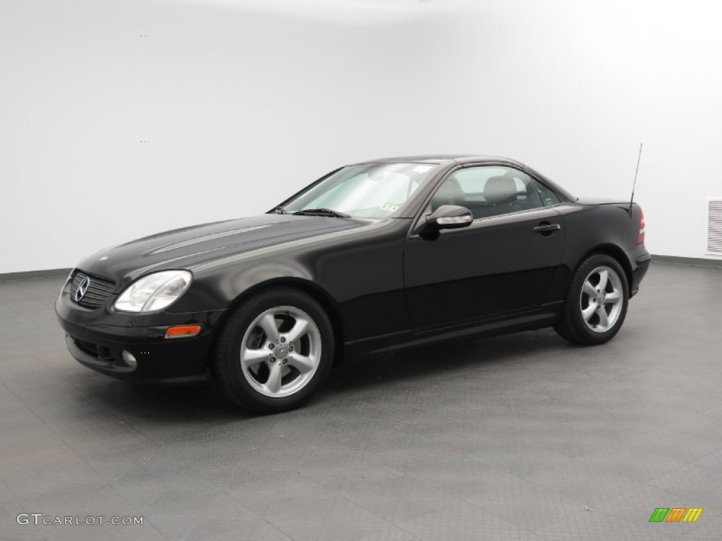 2003 black mercedes benz slk 320 roadster 80678041 car color galleries. Black Bedroom Furniture Sets. Home Design Ideas