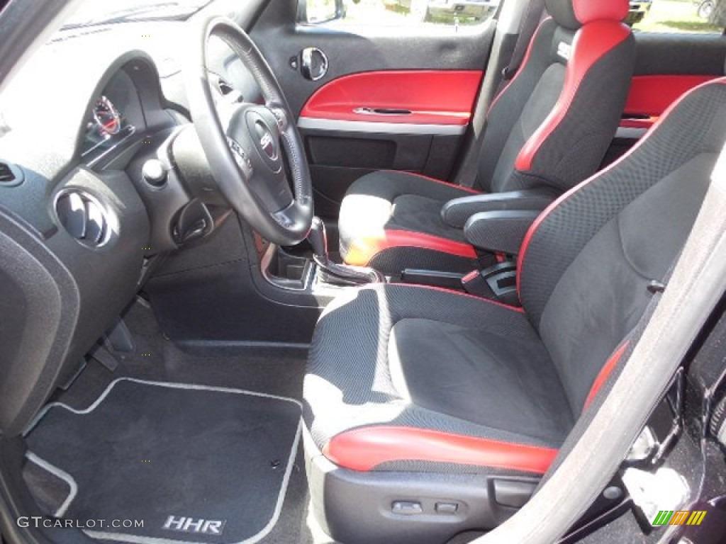 Ebony Black Red Interior 2008 Chevrolet Hhr Ss Photo 80686788