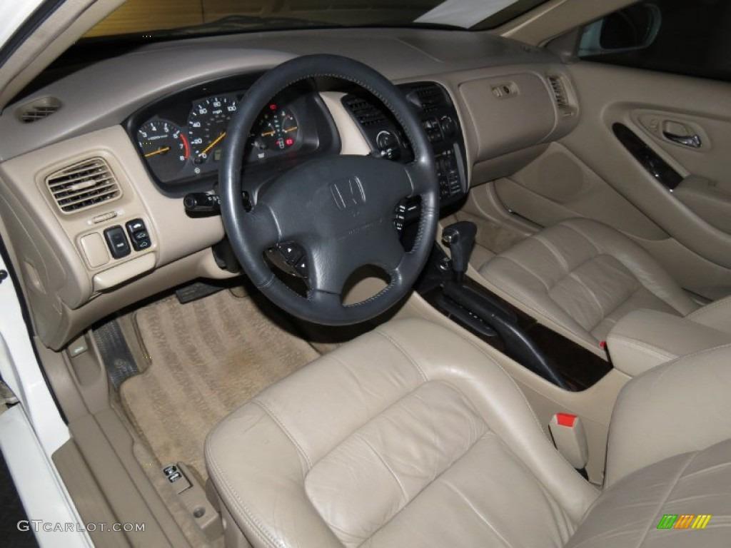 2000 Honda Accord EX V6 Coupe Interior Color Photos ...