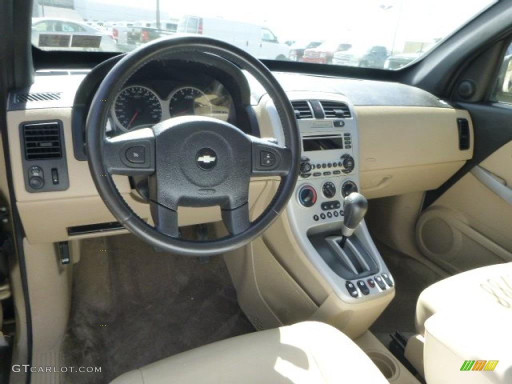 2005 Chevrolet Equinox LT AWD Light Cashmere Dashboard ...
