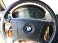 1999 BMW Z3 Beige Interior Steering Wheel Photo