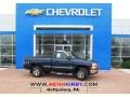 1999 Indigo Blue Metallic Chevrolet Silverado 1500 LS Regular Cab 4x4  photo #1