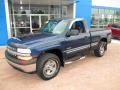 1999 Indigo Blue Metallic Chevrolet Silverado 1500 LS Regular Cab 4x4  photo #10
