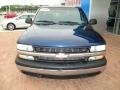 1999 Indigo Blue Metallic Chevrolet Silverado 1500 LS Regular Cab 4x4  photo #15