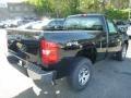 2013 Black Chevrolet Silverado 1500 Work Truck Regular Cab 4x4  photo #5