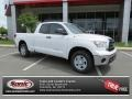 2013 Super White Toyota Tundra Double Cab  photo #1