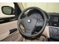 Sand Beige Steering Wheel Photo for 2014 BMW X3 #80716349