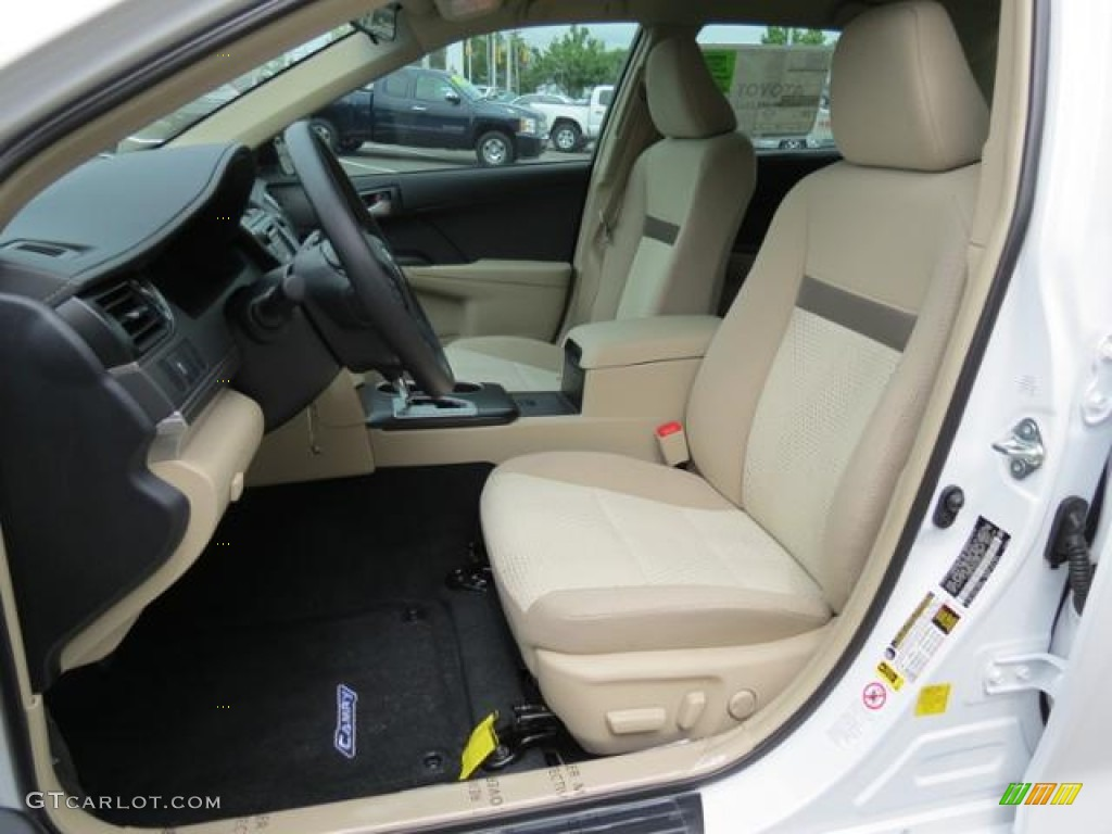 ivory interior 2013 toyota camry le photo 80716769. Black Bedroom Furniture Sets. Home Design Ideas