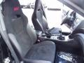 STi Black Alcantara/Carbon Black Front Seat Photo for 2012 Subaru Impreza #80738559