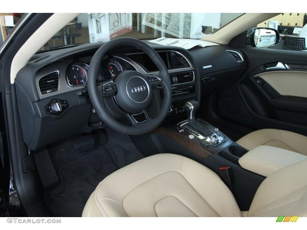 Velvet Beige Interior 2013 Audi A5 2 0t Quattro Coupe Photo 80740720