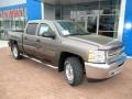 2013 Mocha Steel Metallic Chevrolet Silverado 1500 LT Crew Cab 4x4  photo #12