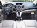 2013 Alabaster Silver Metallic Honda CR-V EX-L AWD  photo #5