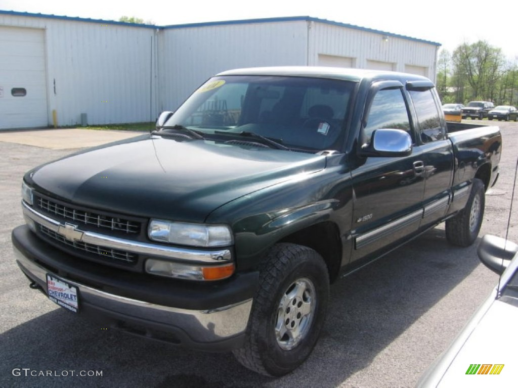 2001 forest green metallic chevrolet silverado 1500 z71. Black Bedroom Furniture Sets. Home Design Ideas