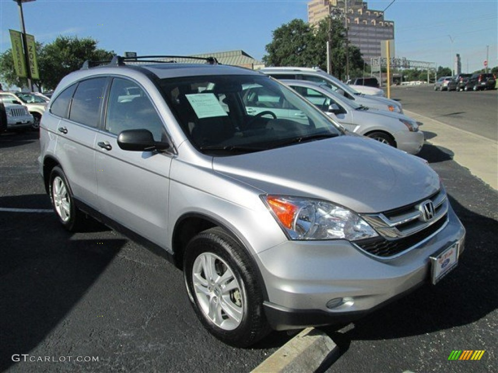 2011 CR-V EX - Alabaster Silver Metallic / Gray photo #1