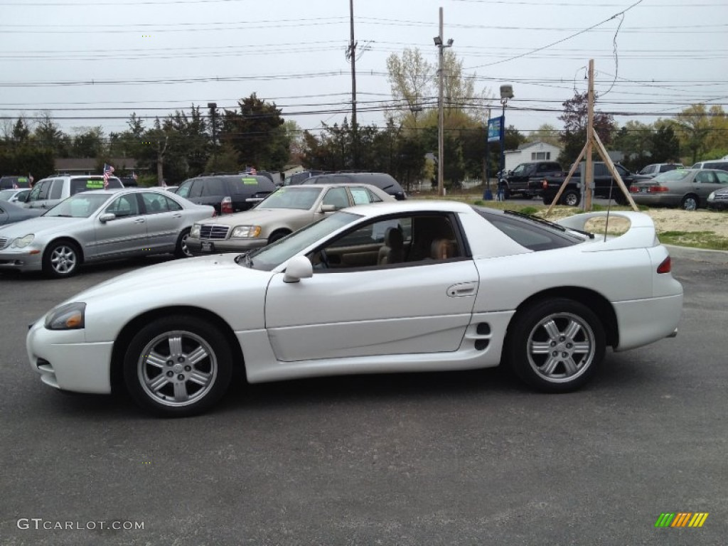 glacier white pearl 1999 mitsubishi 3000gt coupe exterior. Black Bedroom Furniture Sets. Home Design Ideas