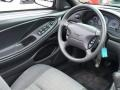 2000 Ford Mustang Dark Charcoal Interior Steering Wheel Photo