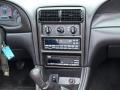 2000 Ford Mustang Dark Charcoal Interior Controls Photo